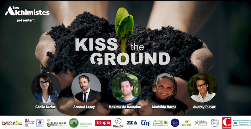 Affiche Kiss the Ground Alchimistes