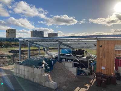 Site production de compost 93