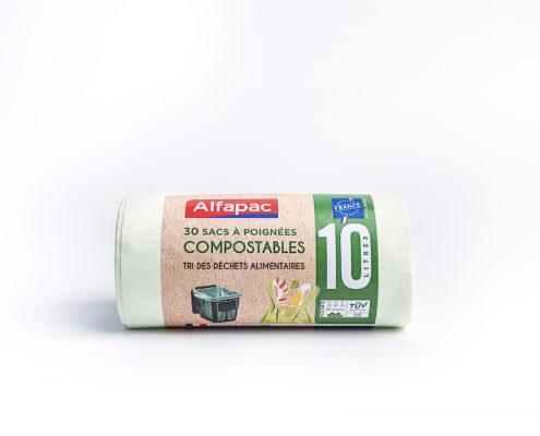 Alfapac - Sac Compostable et Bio Seau